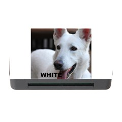 White German Shepherd Love W Pic Memory Card Reader with CF by TailWags