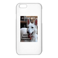 White German Shepherd Love W Pic iPhone 6/6S TPU Case by TailWags