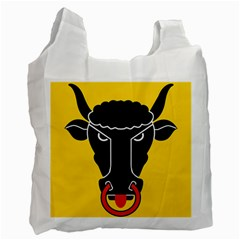 Flag of Canton of Uri Recycle Bag (Two Side)  by abbeyz71