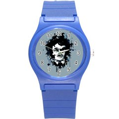 Edgar Allan Crow Round Plastic Sport Watch (s) by lvbart