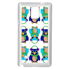 Owl  Samsung Galaxy Note 4 Case (White) by Zeze