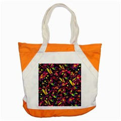 Colorful Dragonflies Design Accent Tote Bag by Valentinaart