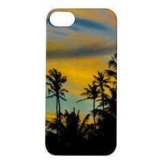 Tropical Scene At Sunset Time Apple Iphone 5s/ Se Hardshell Case by dflcprints