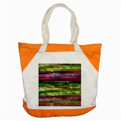 Colorful Marble Accent Tote Bag by Valentinaart
