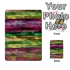 Colorful Marble Multi Purpose Cards (rectangle)  by Valentinaart
