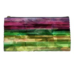 Colorful Marble Pencil Cases by Valentinaart