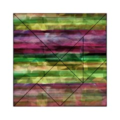 Colorful Marble Acrylic Tangram Puzzle (6  X 6 ) by Valentinaart