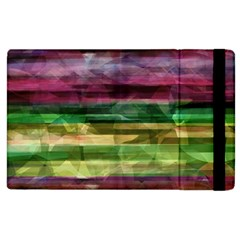 Colorful Marble Apple Ipad 3/4 Flip Case by Valentinaart