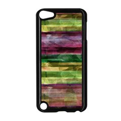Colorful Marble Apple Ipod Touch 5 Case (black) by Valentinaart