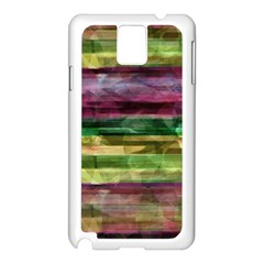 Colorful Marble Samsung Galaxy Note 3 N9005 Case (white) by Valentinaart