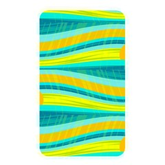 Yellow And Blue Decorative Design Memory Card Reader by Valentinaart