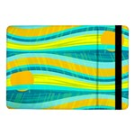 Yellow and blue decorative design Samsung Galaxy Tab Pro 10.1  Flip Case Front