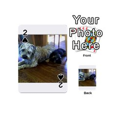 Border Terrier Brothers Playing Cards 54 (Mini)  by TailWags
