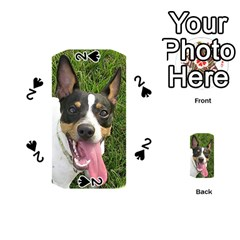 Rat Terrier second Playing Cards 54 (Round)  by TailWags
