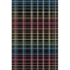 Neon Plaid Design 5 5  X 8 5  Notebooks by Valentinaart