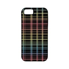 Neon Plaid Design Apple Iphone 5 Classic Hardshell Case (pc+silicone) by Valentinaart