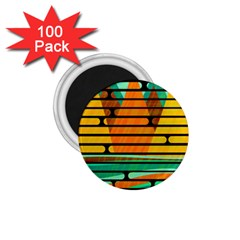 Decorative Autumn Landscape 1 75  Magnets (100 Pack)  by Valentinaart
