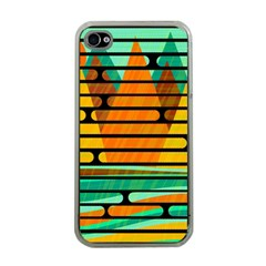 Decorative Autumn Landscape Apple Iphone 4 Case (clear) by Valentinaart