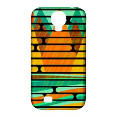 Decorative Autumn Landscape Samsung Galaxy S4 Classic Hardshell Case (pc+silicone) by Valentinaart