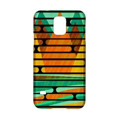 Decorative Autumn Landscape Samsung Galaxy S5 Hardshell Case  by Valentinaart