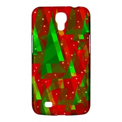 Xmas Trees Decorative Design Samsung Galaxy Mega 6 3  I9200 Hardshell Case by Valentinaart