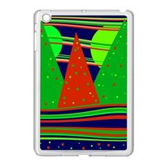 Magical Xmas Night Apple Ipad Mini Case (white) by Valentinaart