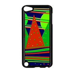 Magical Xmas night Apple iPod Touch 5 Case (Black) by Valentinaart
