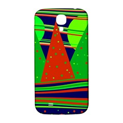 Magical Xmas Night Samsung Galaxy S4 I9500/i9505  Hardshell Back Case by Valentinaart