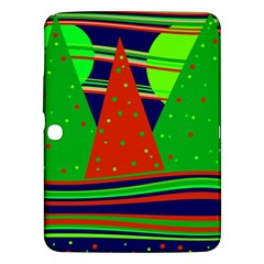 Magical Xmas Night Samsung Galaxy Tab 3 (10 1 ) P5200 Hardshell Case  by Valentinaart