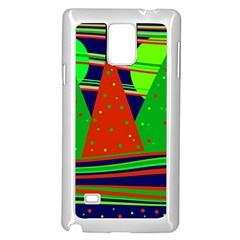 Magical Xmas Night Samsung Galaxy Note 4 Case (white) by Valentinaart