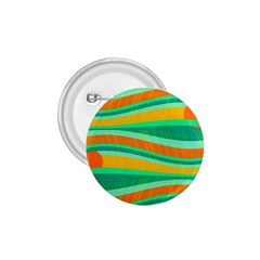 Green And Orange Decorative Design 1 75  Buttons by Valentinaart