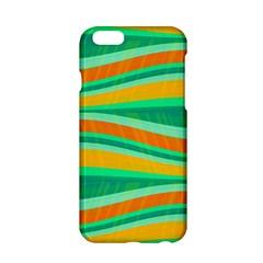 Green And Orange Decorative Design Apple Iphone 6/6s Hardshell Case by Valentinaart