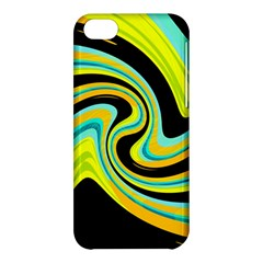 Blue And Yellow Apple Iphone 5c Hardshell Case by Valentinaart