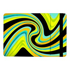 Blue And Yellow Samsung Galaxy Tab Pro 10 1  Flip Case by Valentinaart