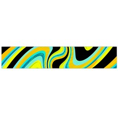 Blue And Yellow Flano Scarf (large) by Valentinaart
