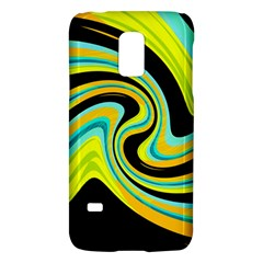Blue And Yellow Galaxy S5 Mini by Valentinaart
