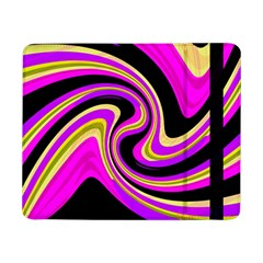 Pink And Yellow Samsung Galaxy Tab Pro 8 4  Flip Case by Valentinaart