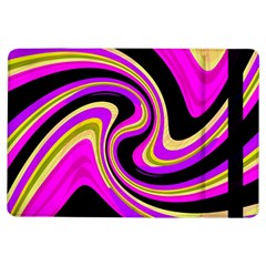 Pink And Yellow Ipad Air Flip by Valentinaart