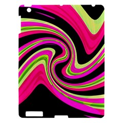 Magenta And Yellow Apple Ipad 3/4 Hardshell Case by Valentinaart