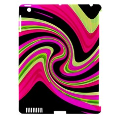 Magenta And Yellow Apple Ipad 3/4 Hardshell Case (compatible With Smart Cover) by Valentinaart