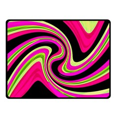 Magenta And Yellow Double Sided Fleece Blanket (small)  by Valentinaart