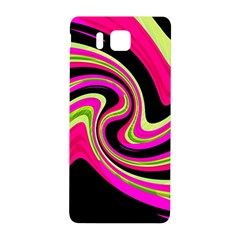 Magenta And Yellow Samsung Galaxy Alpha Hardshell Back Case by Valentinaart