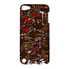Brown Confusion Apple Ipod Touch 5 Hardshell Case by Valentinaart