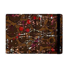 Brown Confusion Ipad Mini 2 Flip Cases by Valentinaart