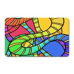 Abstrak Magnet (rectangular)