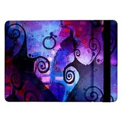 Midnight In My Mind Samsung Galaxy Tab Pro 12 2  Flip Case by KirstenStar