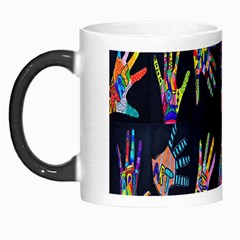 Art With Your Hand Morph Mugs