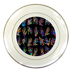 Art With Your Hand Porcelain Plates by AnjaniArt