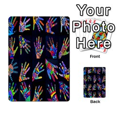 Art With Your Hand Multi Purpose Cards (rectangle)  by AnjaniArt
