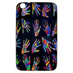 Art With Your Hand Samsung Galaxy Tab 3 (8 ) T3100 Hardshell Case  by AnjaniArt